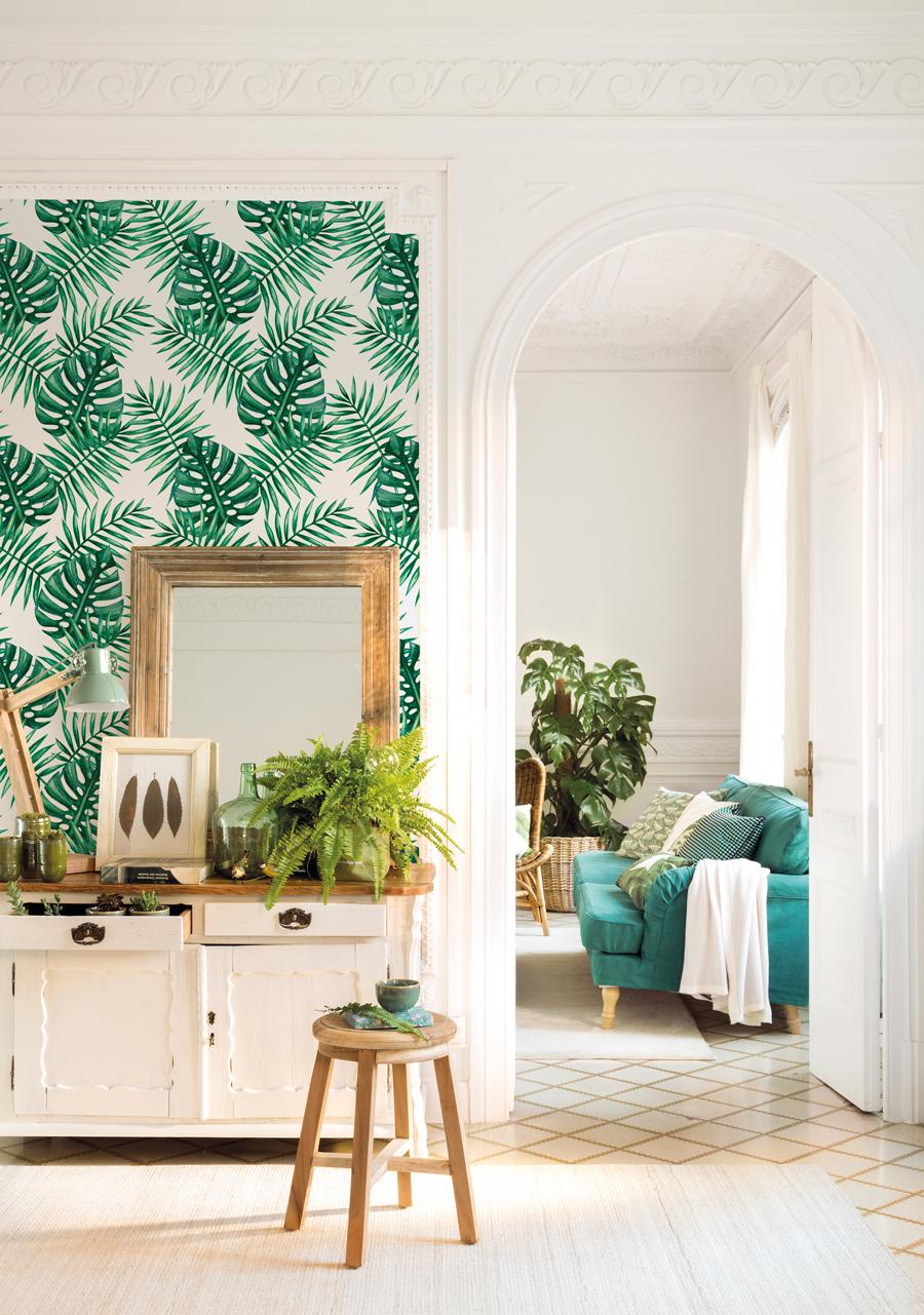 Papel Pintado Como Decorar Con Papel Pintado Para Paredes Elmueble - Papeles-de-decoracion-para-paredes