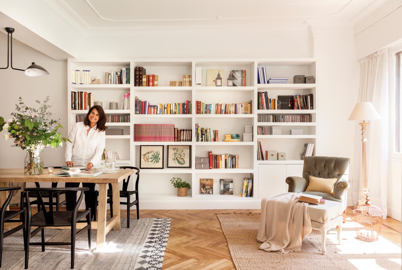 Decora tu casa con molduras y z calos - Mesas de libro para salon ...