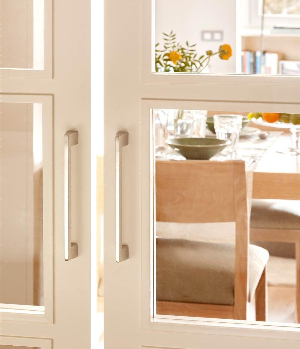 Renueva las manillas y los pomos de las puertas de casa for Puertas acristaladas correderas