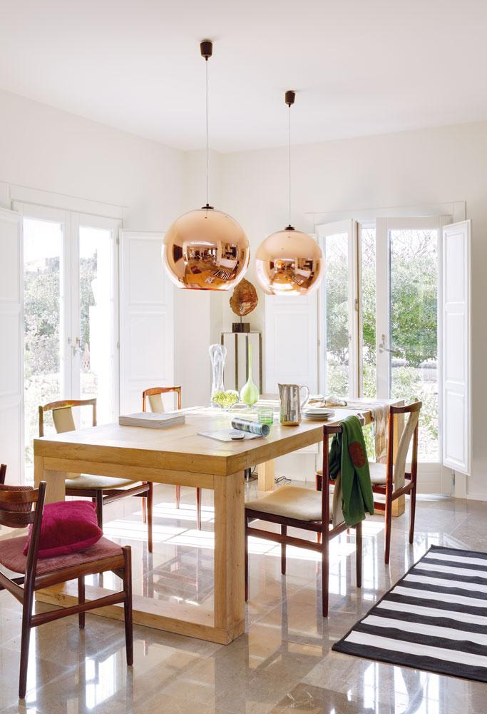 Salones muebles para la decoraci n del sal n comedor el - Lamparas de mesa originales ...