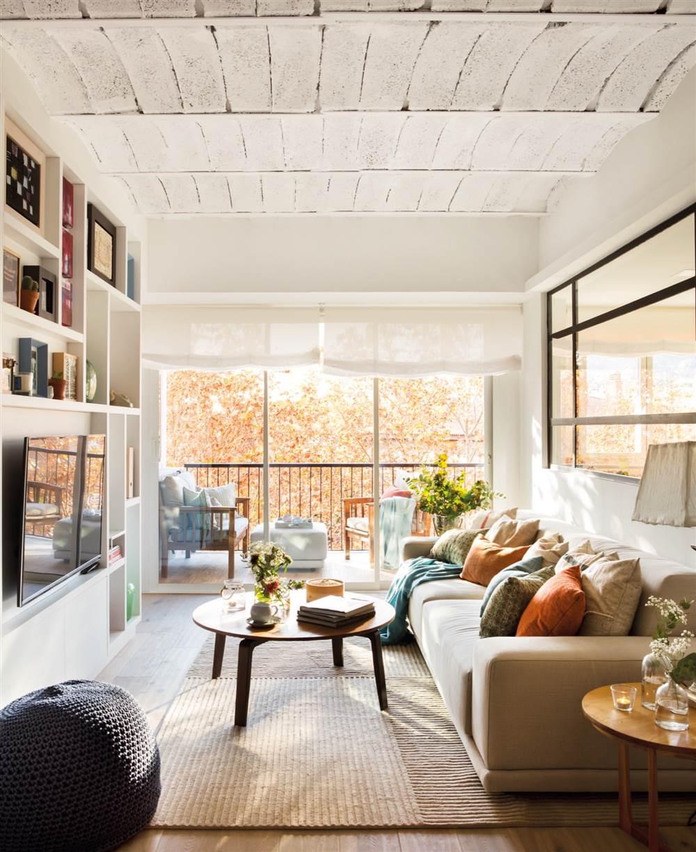 Diez pisos pequeños con las mejores ideas para aprovechar el espacio