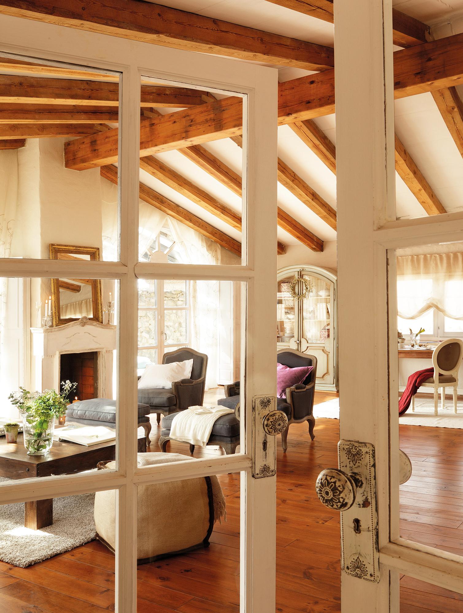Salones muebles para la decoraci n del sal n comedor el - Salon rustico ikea ...