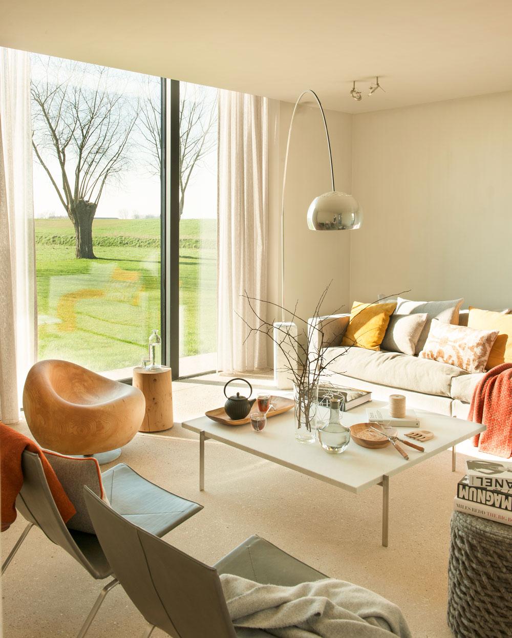 Salones muebles para la decoraci n del sal n comedor el for Muebles modernistas