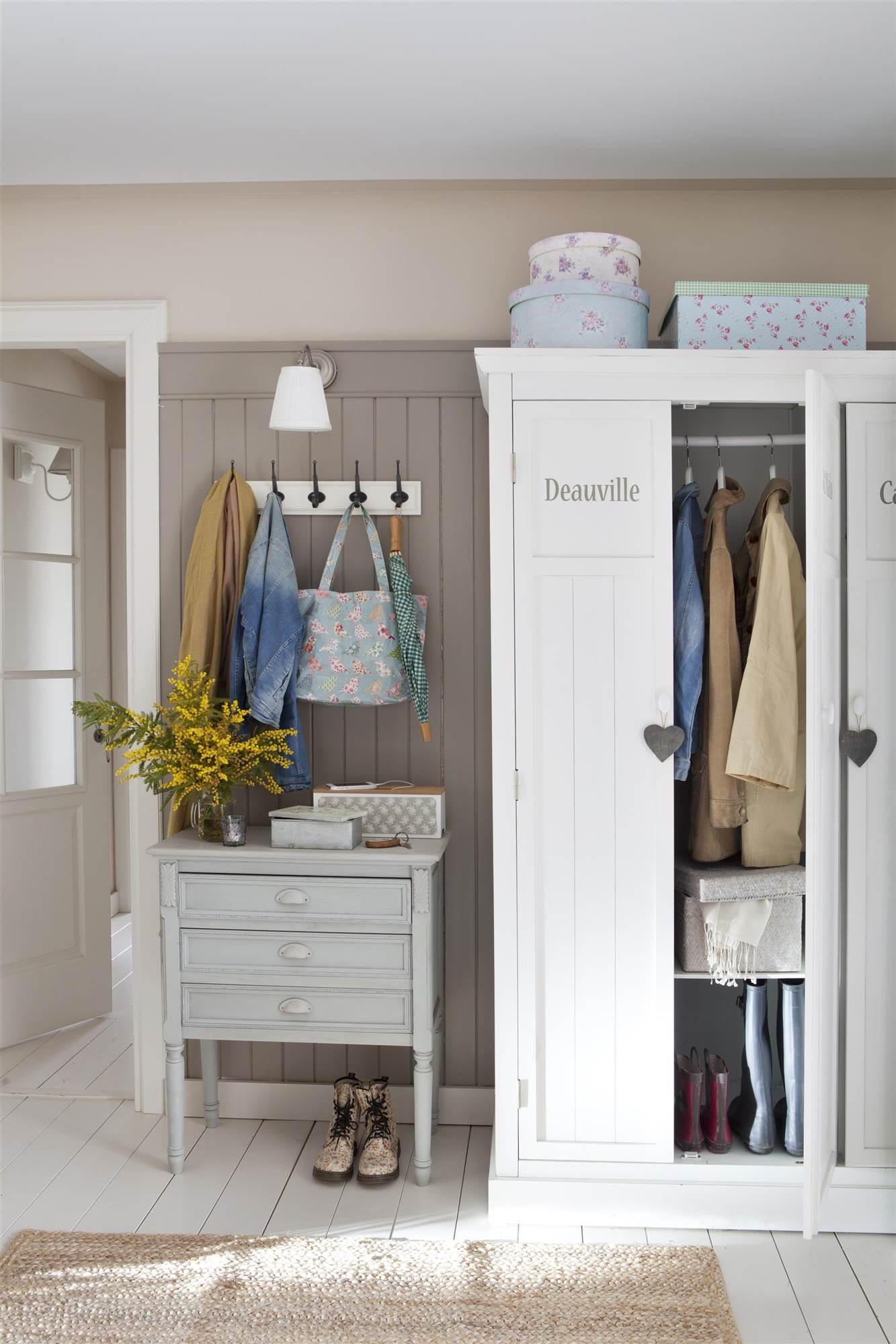Armarios roperos armarios de cocina y armarios de ba o - Armario ropa blanca ...