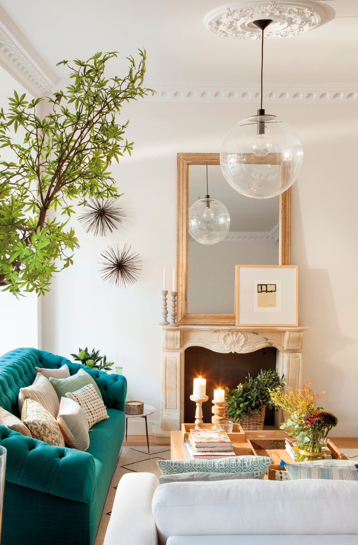 9 chimeneas muy bien decoradas