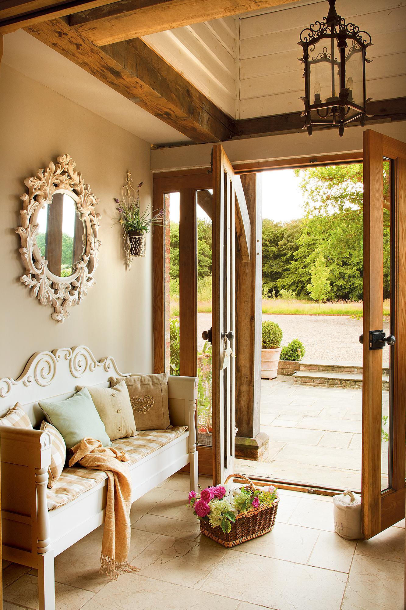 Shabby chic las claves de un estilo decorativo con mucho for Casa de estilo campestre
