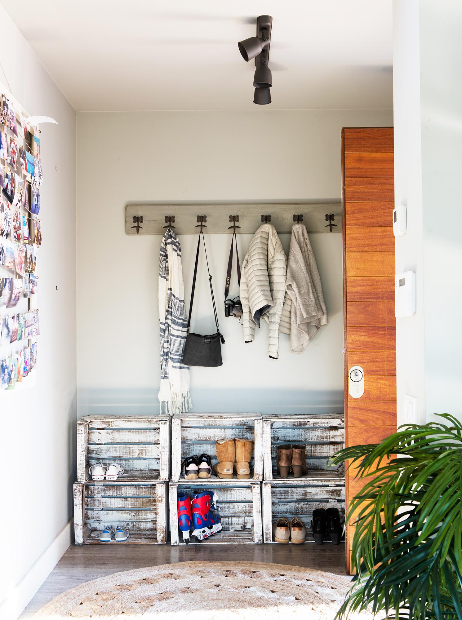 M s de 15 ideas diy con cajas de madera for Bricolaje zapatero madera