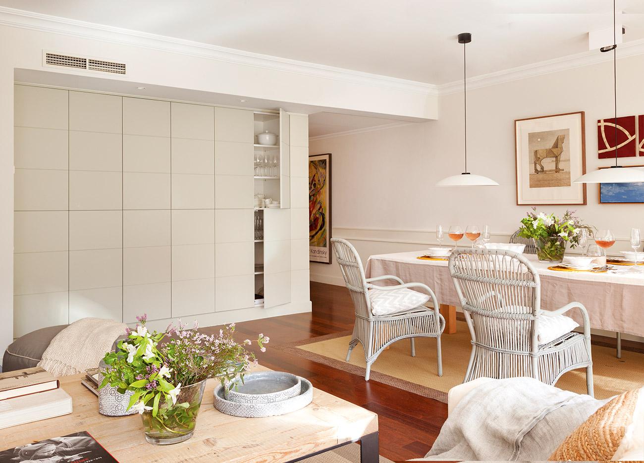 Ideas para aprovechar al m ximo el espacio de un piso peque o for Muebleria el mueble