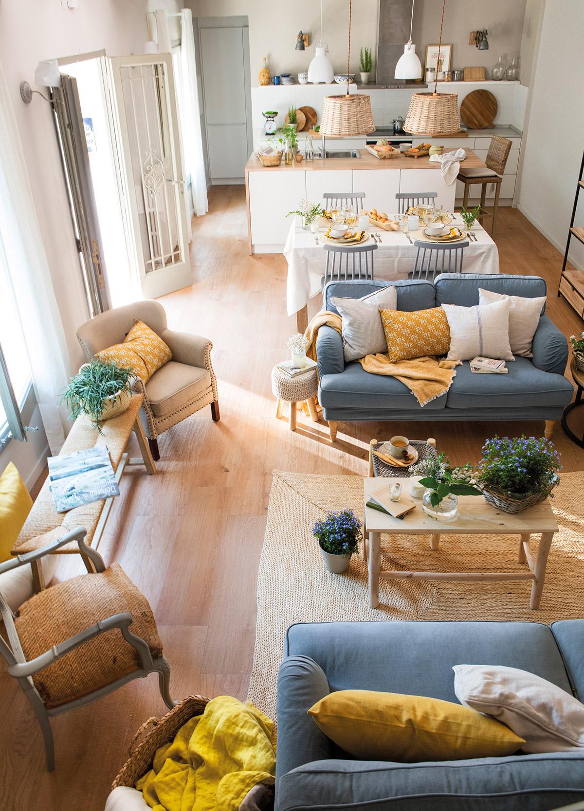 Ideas para aprovechar al m ximo el espacio de un piso peque o - Ideas para decorar un piso moderno ...