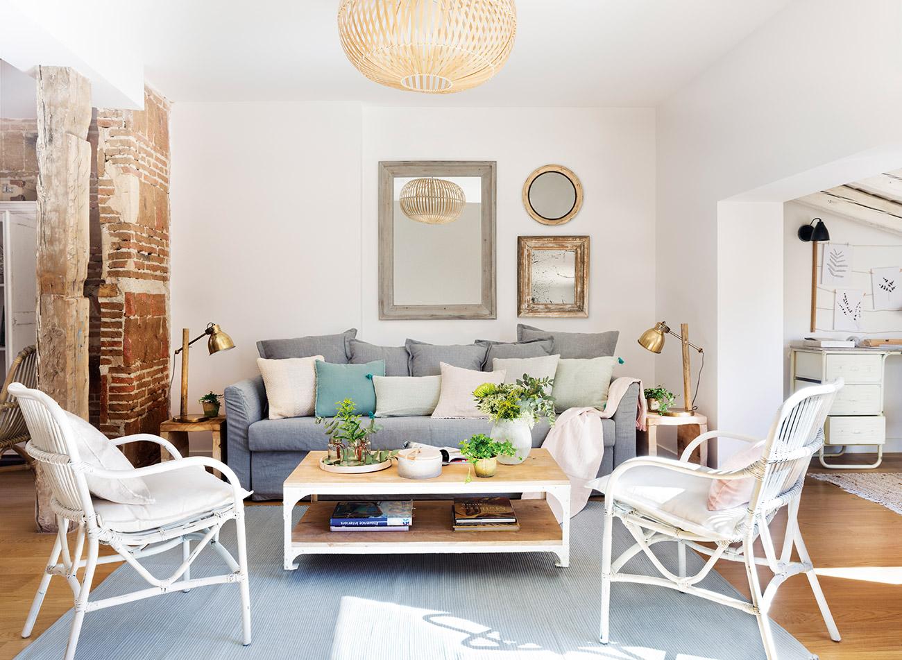 Ideas para aprovechar al m ximo el espacio de un piso peque o for Como decorar un piso pequeno moderno