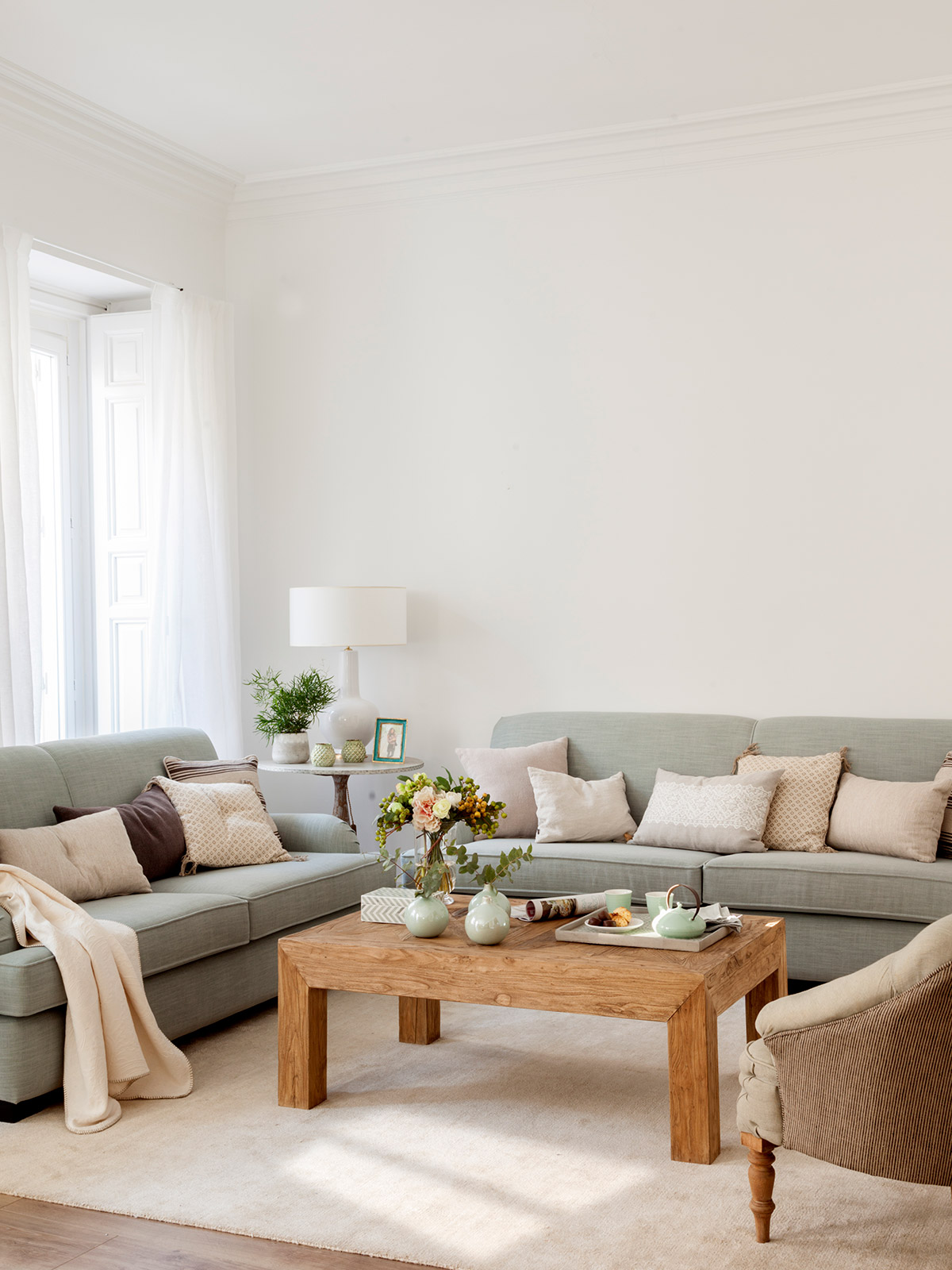 Ideas para aprovechar al m ximo el espacio de un piso peque o - El mueble sofas ...