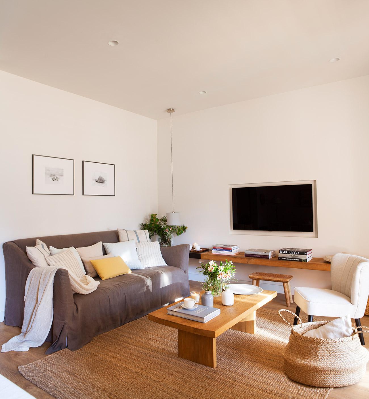 Ideas para aprovechar al m ximo el espacio de un piso peque o for Mueble pequeno salon