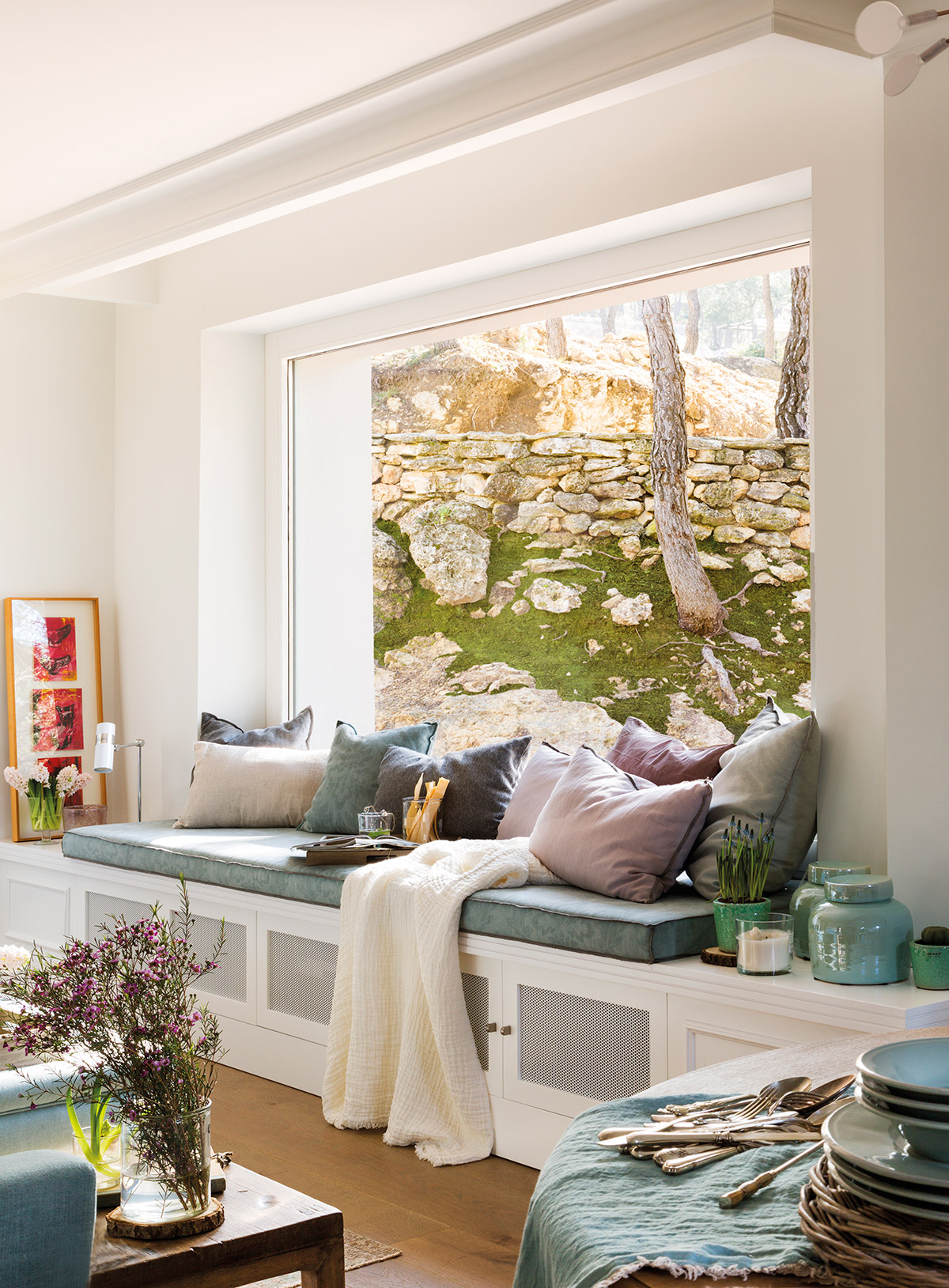Ideas para aprovechar al m ximo el espacio de un piso peque o for Pequeno mueble para dormitorio adulto