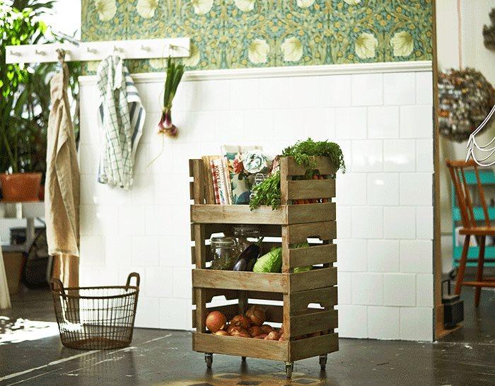 M s de 15 ideas diy con cajas de madera for Diseno de muebles con cajones de verduras