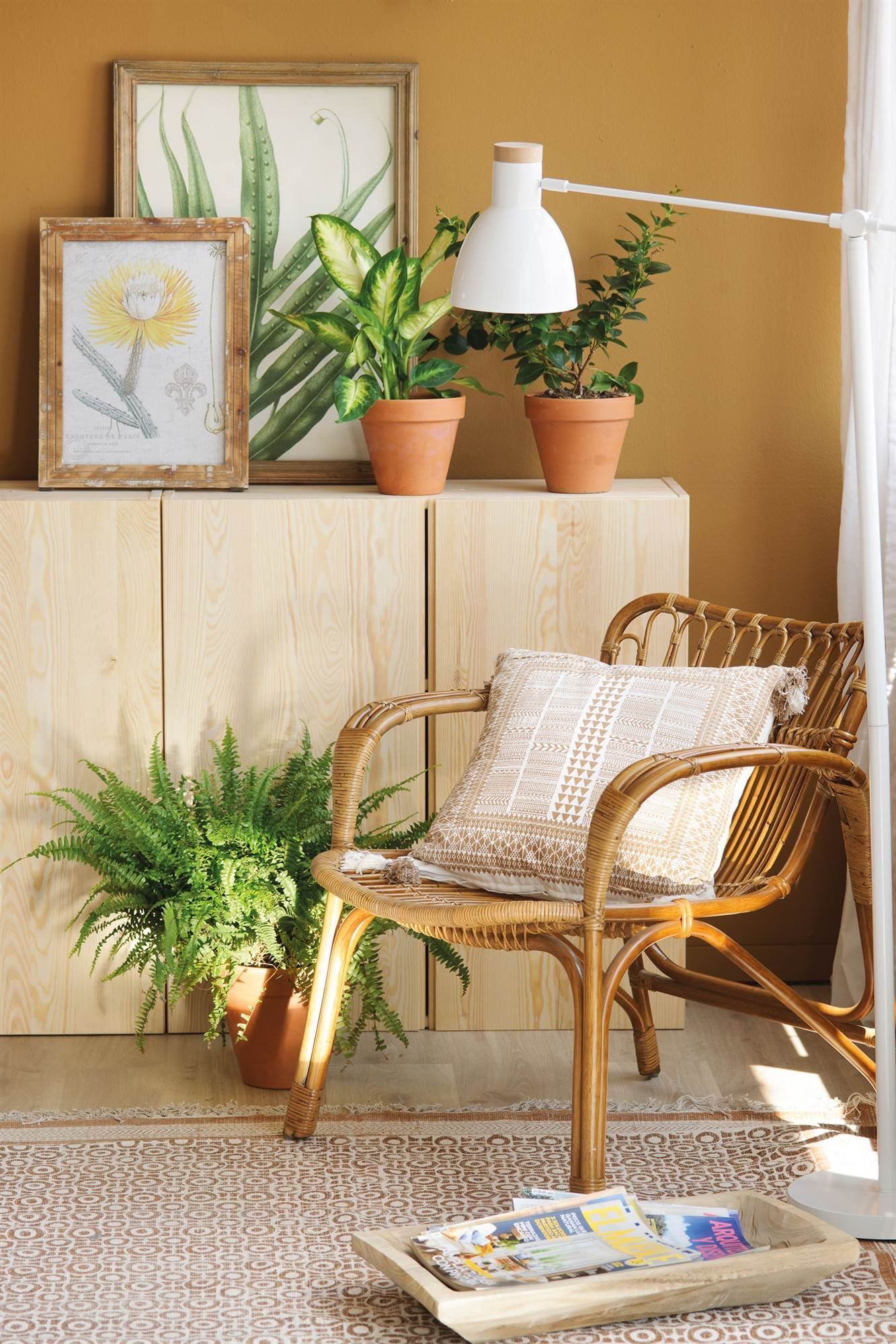 Fibra Natural El Mueble # Muebles De Pajilla Puerto Rico