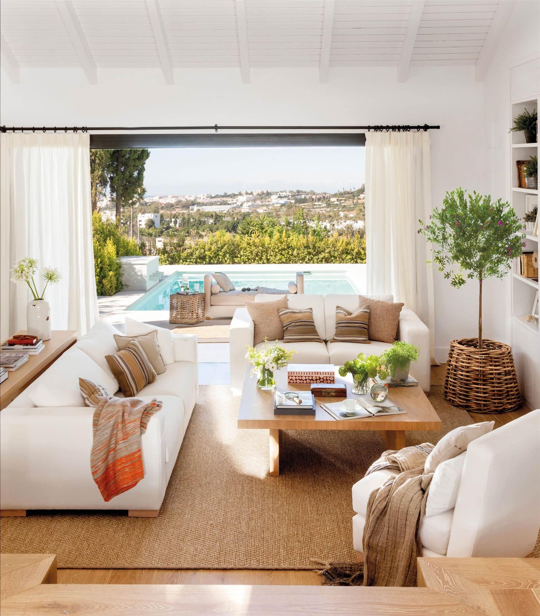Salones muebles para la decoraci n del sal n comedor el for Alfombra azul turquesa del dormitorio