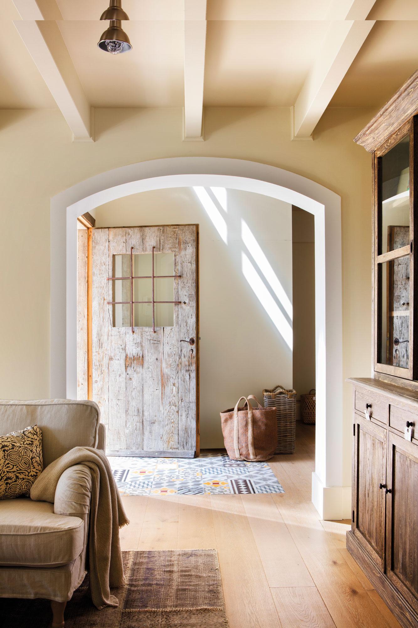 Entradas De Casas Decoraci N De Entradas De Casas R Sticas Y Modernas ~ Tejadillos Para Puertas Rusticos