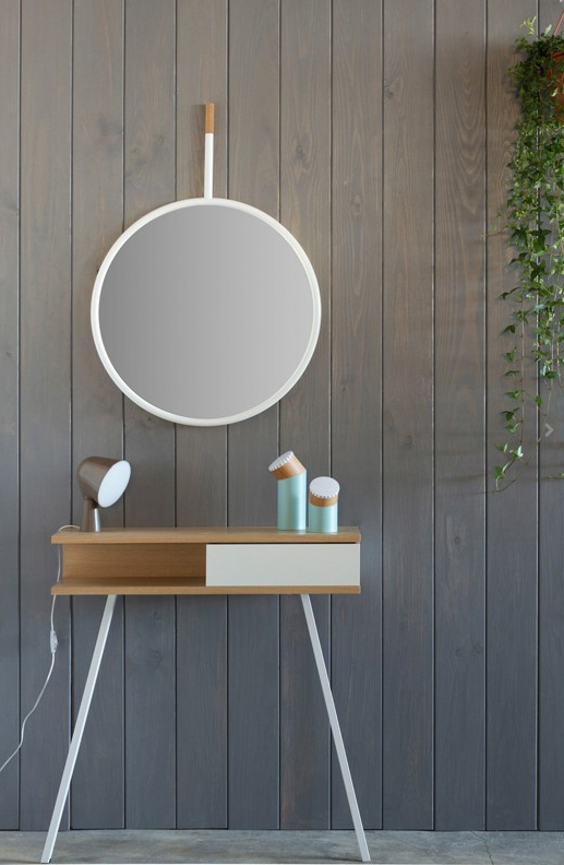 Se lleva el corcho ideas objetos bonitos y decorativos for Espejo redondo blanco