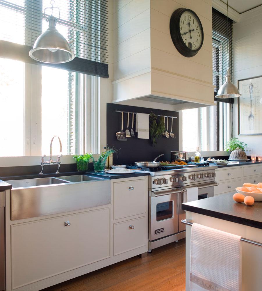 Piso de alquiler ideas para decorar la cocina - Fregadero cocina ...