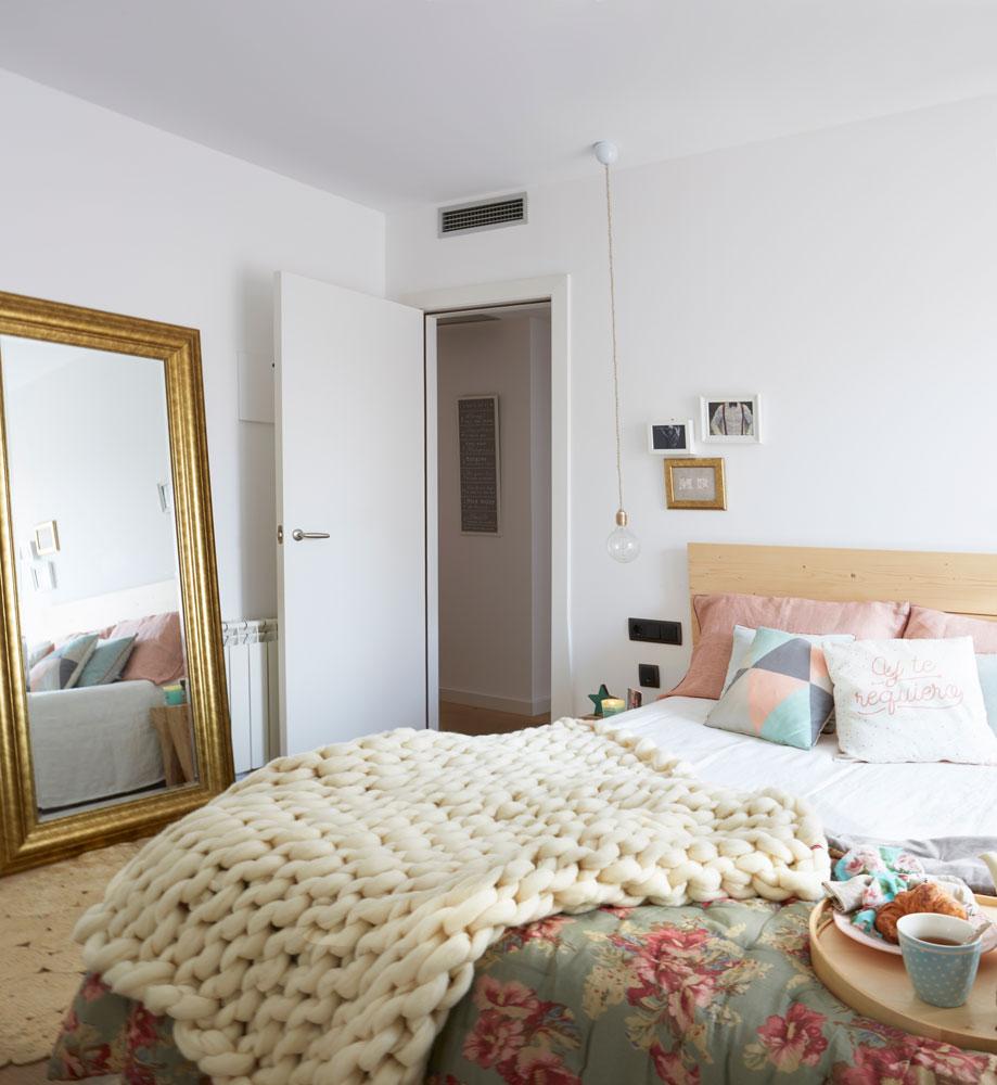 Decora el dormitorio de tu piso de alquiler