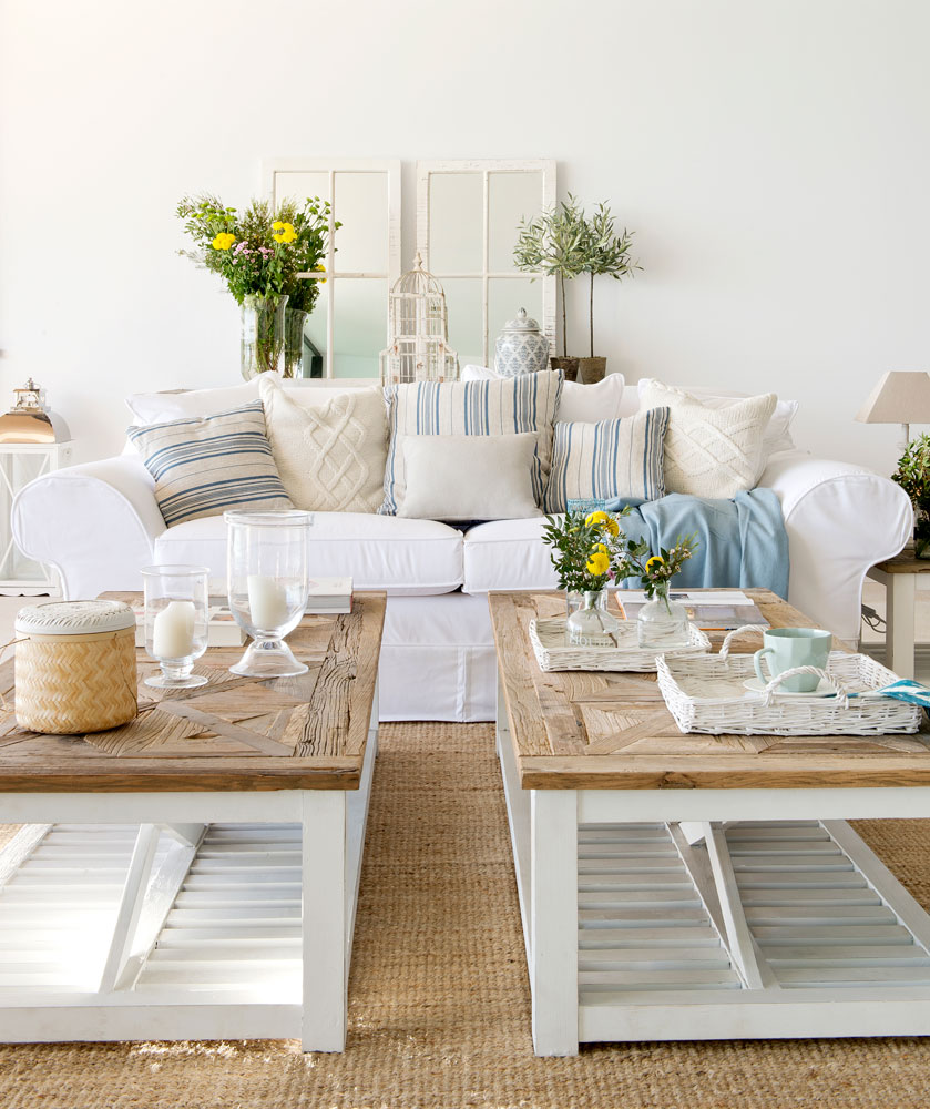 Mesas para salon comedor beautiful mesa para comedor o - Centros de mesa para comedor ...