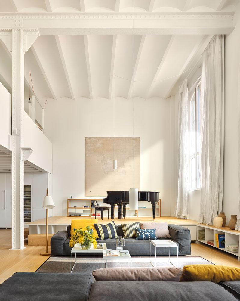 Salones muebles para la decoraci n del sal n comedor el for Techos para salones
