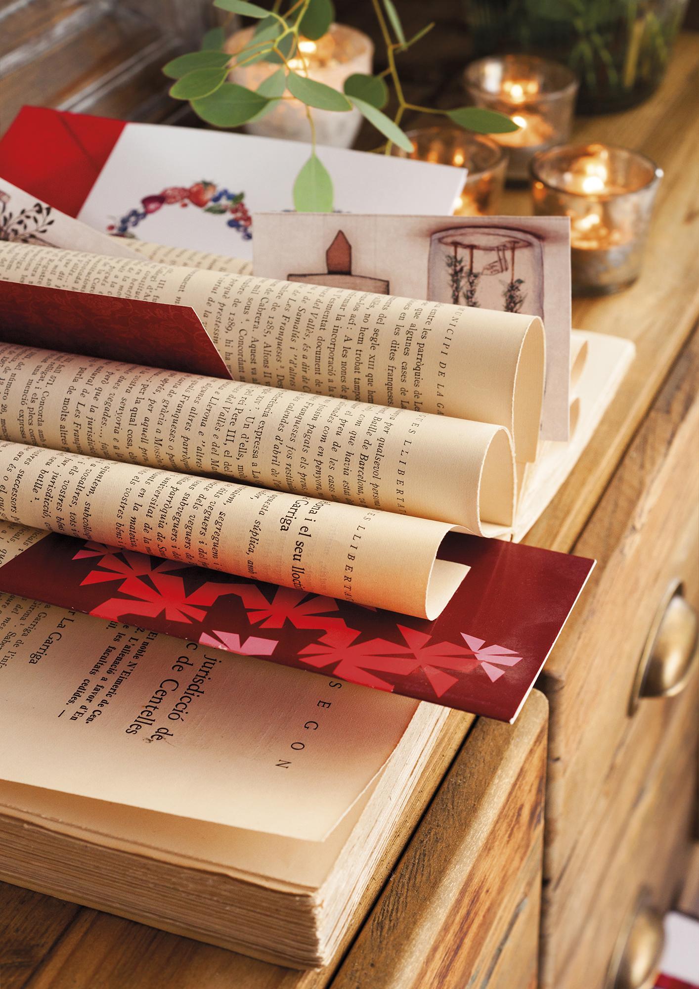 MG 8634. libros antiguos usados para decorar