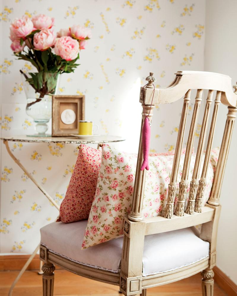 Shabby chic las claves de un estilo decorativo con mucho - Decoracion de salones estilo romantico ...
