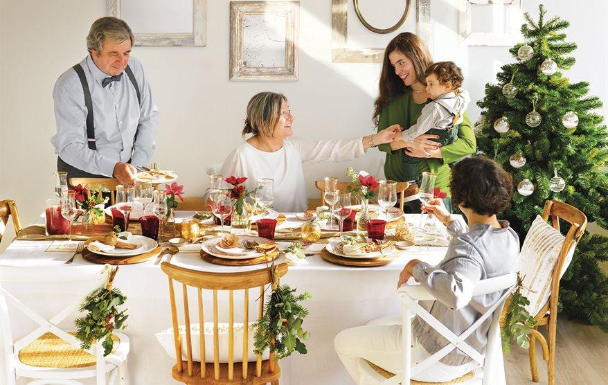 C mo preparar la mesa de navidad perfecta - Preparar mesa navidad ...