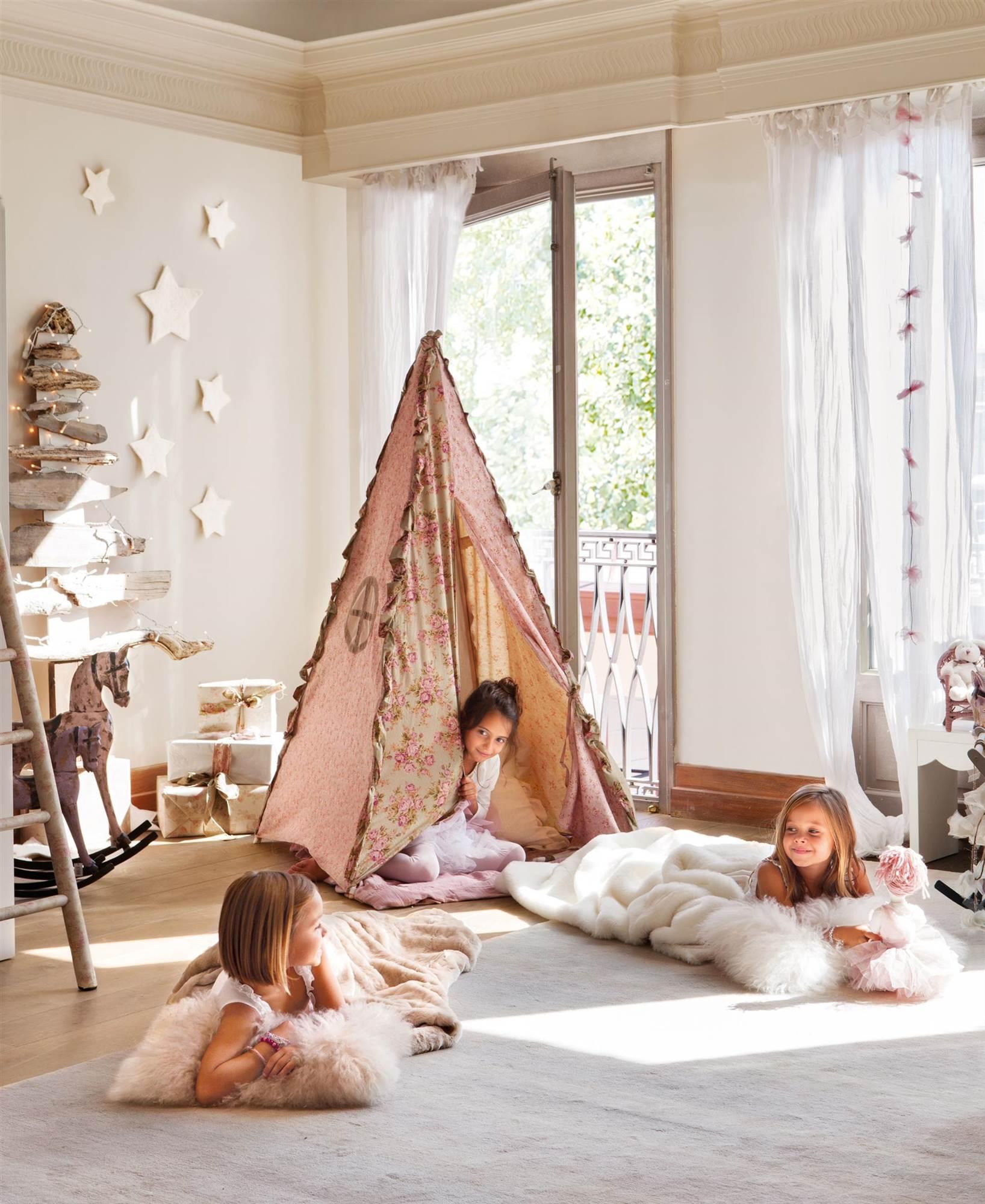 Ideas para decorar de Navidad la habitación de los niños