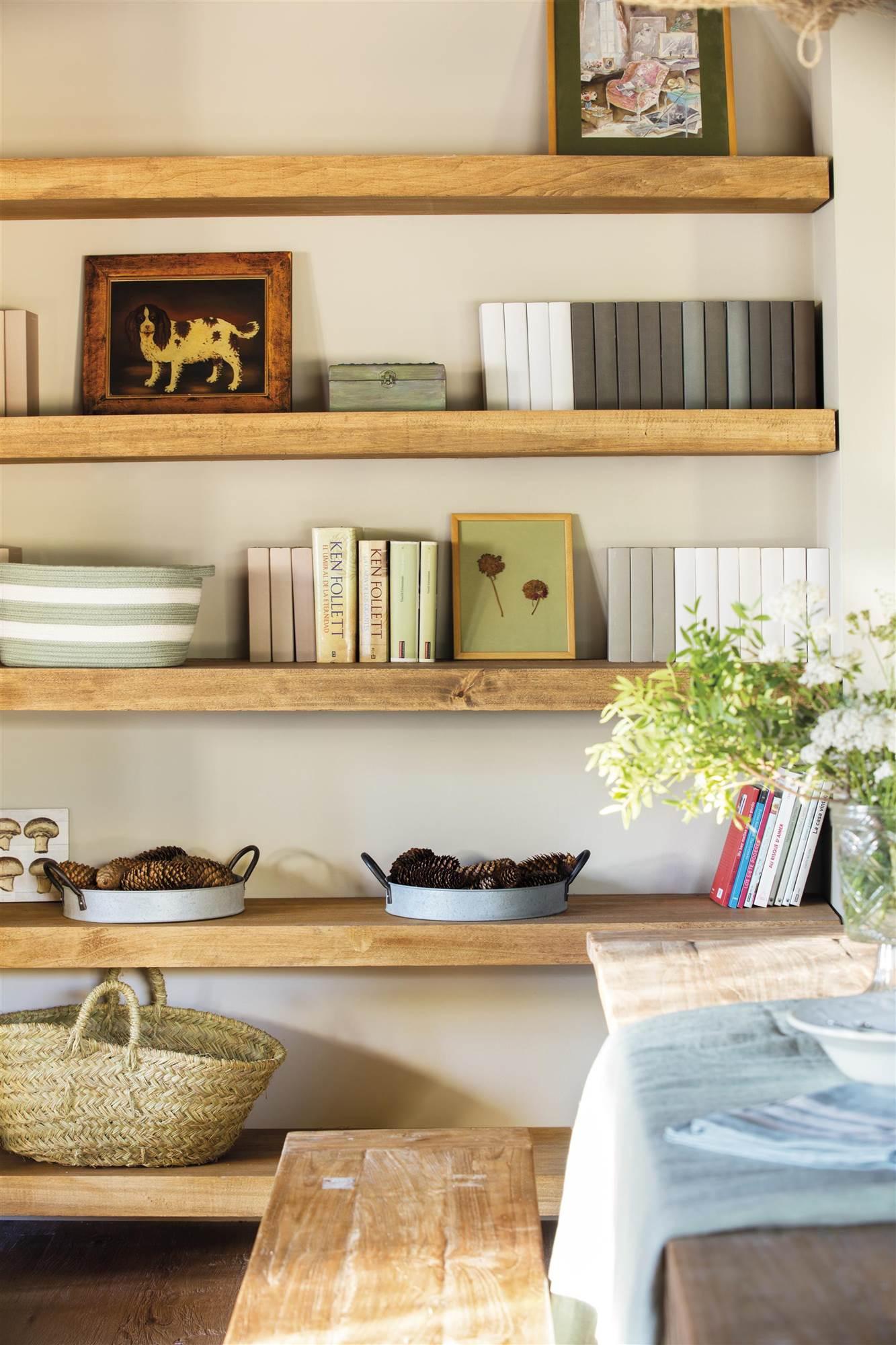 89 fotos de estantes - Estanterias en madera ...