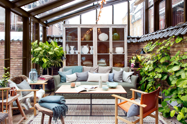 C mo disfrutar de tu terraza en oto o for Decoracion de interiores jardines de invierno
