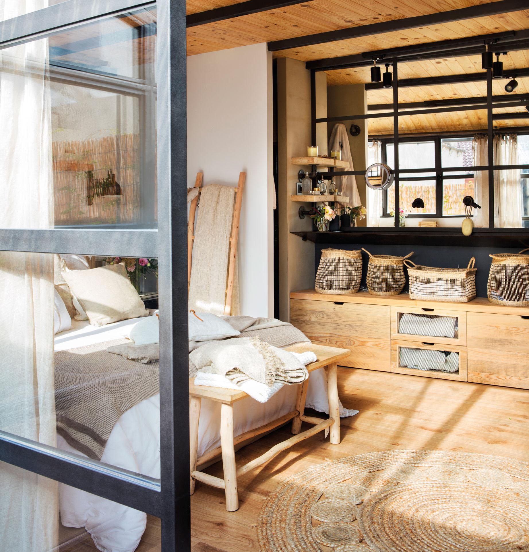 Dormitorios etnicos trendy dormitorio de estilo tnico y for Muebles estilo etnico
