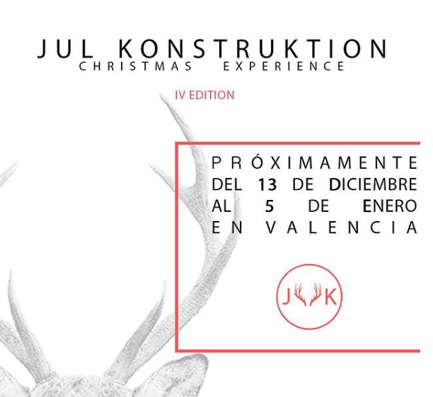 JUL KONSTRUCTION NAVIDAD 2017. Jul Konstruktion (Valencia)