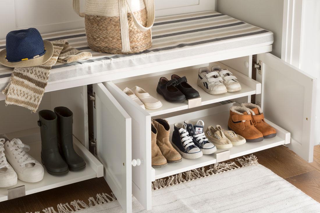 Zapateros y accesorios de orden para guardar tus zapatos - Zapatero para entrada ...