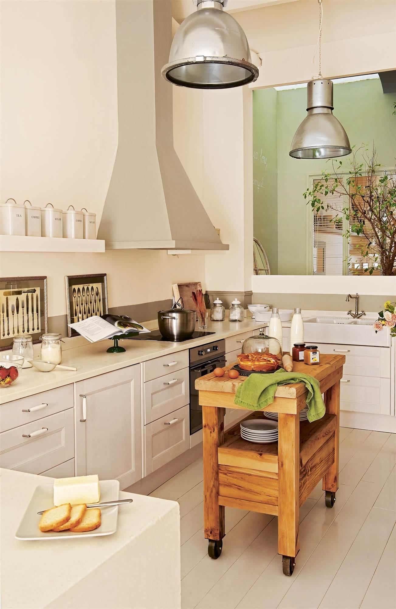 Muebles de cocina elmueble for Cocinas rusticas ikea