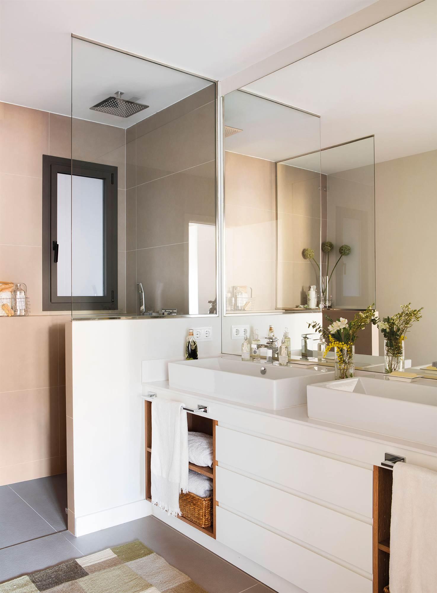 Muebles de bao dos lavabos cool muebles de bao originales with muebles de bao dos lavabos - Aki espejos bano ...
