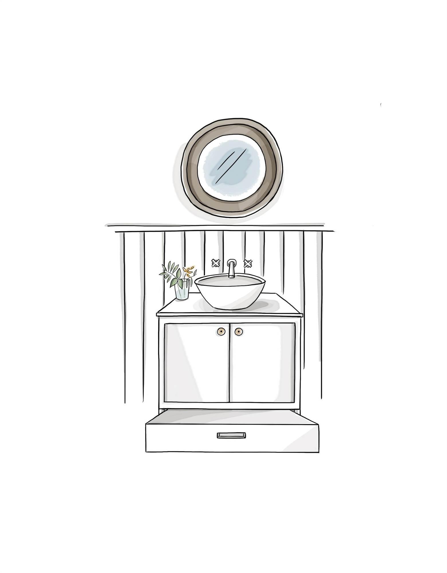 Muebles Ba O Decoraci N Accesorios Mamparas Y Azulejos Elmueble # Muebles Dibujos Para Colorear