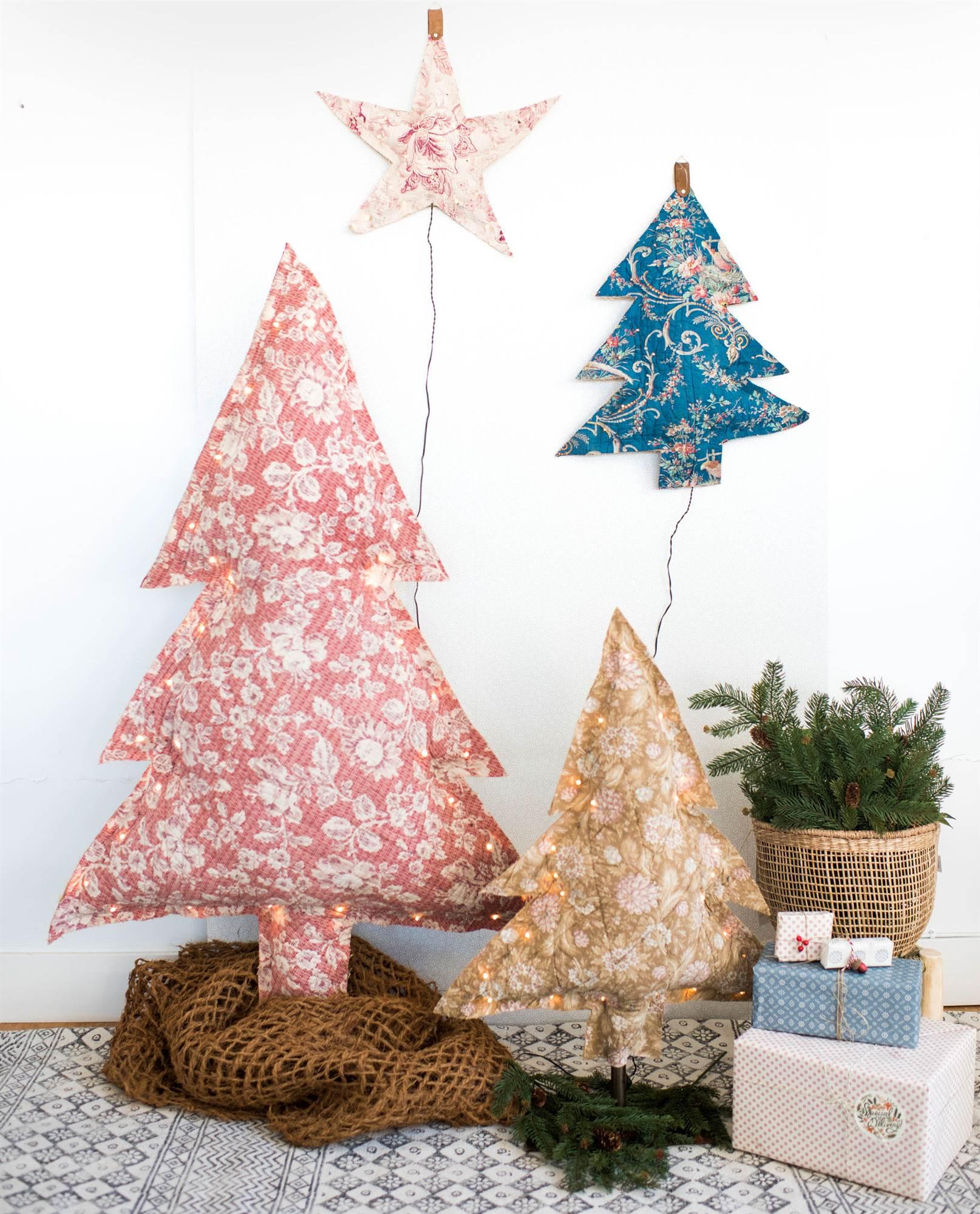 arboles de navidad de tela decoandliving - Arbol De Navidad De Tela