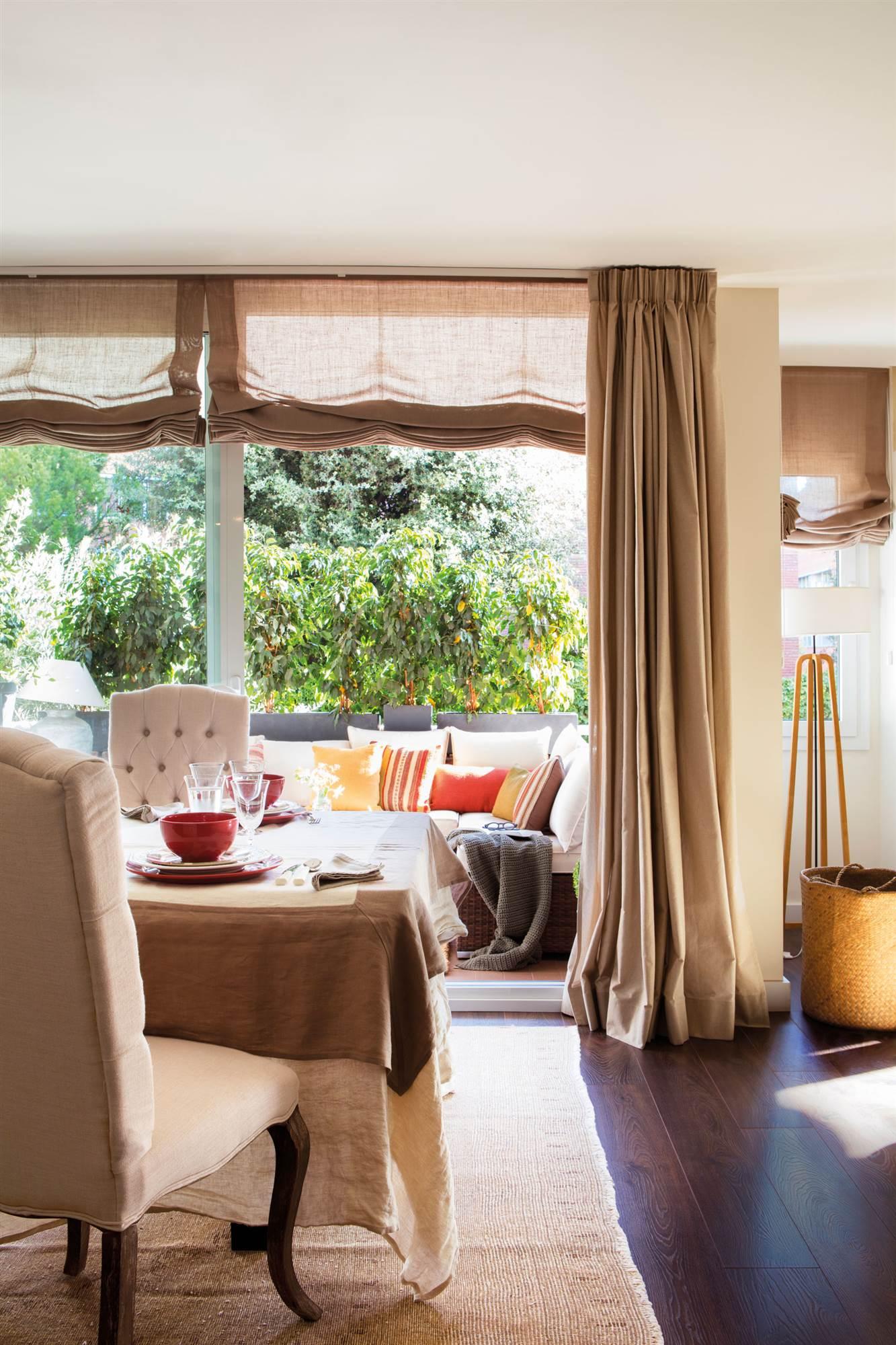 Elige la cortina perfecta para cada tipo de ventana - Que cortinas poner en la cocina ...