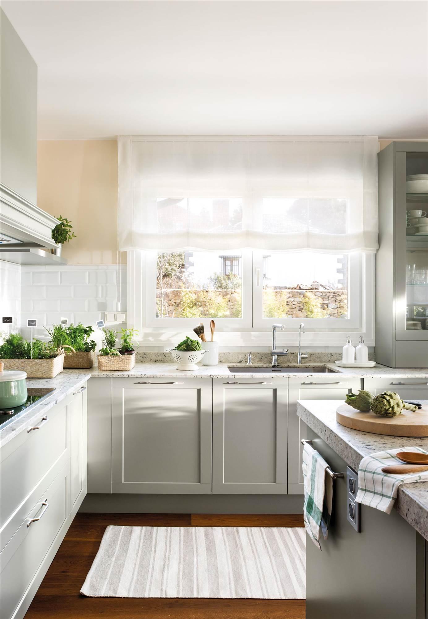 Elige el tejido perfecto para cada cortina - Estores para cocinas modernas ...