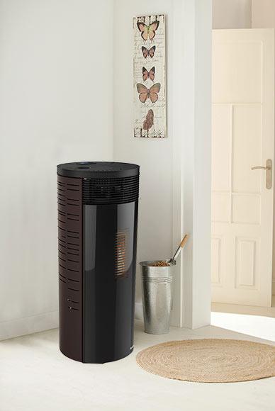las estufas de pellets calor limpio sostenible y econ mico. Black Bedroom Furniture Sets. Home Design Ideas