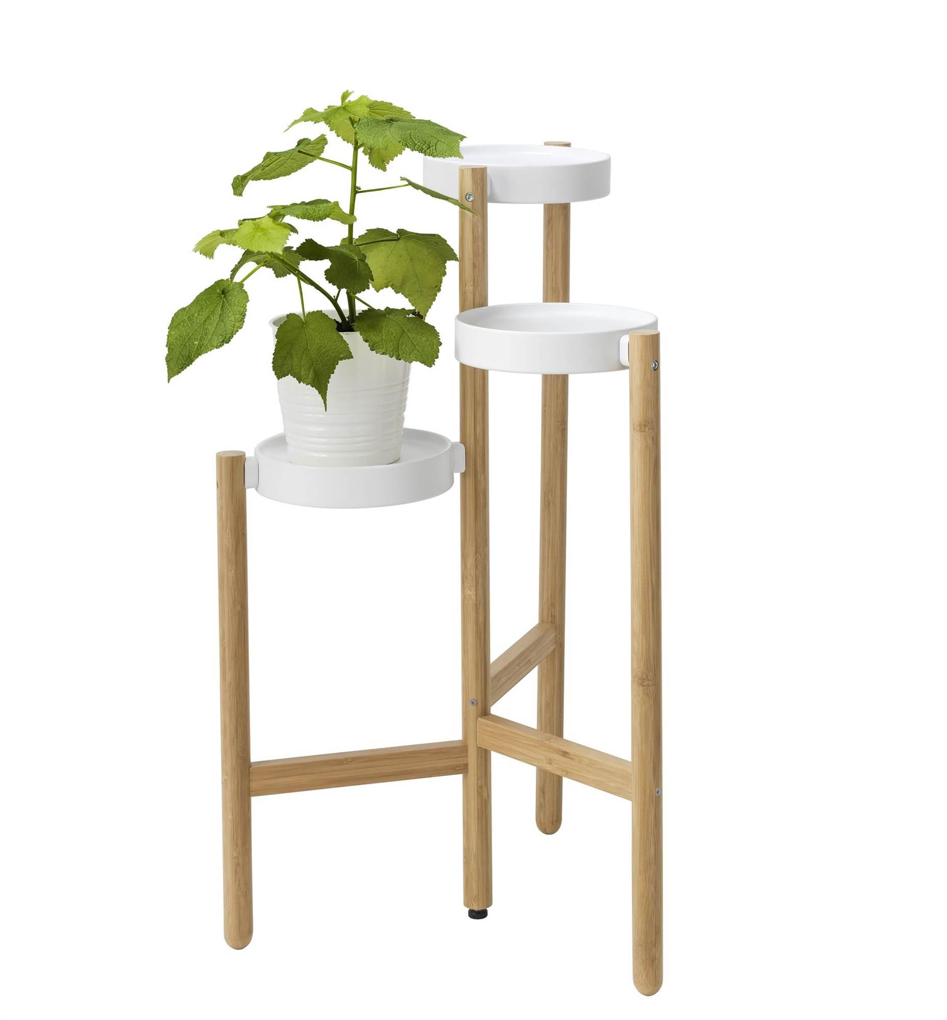 Ideas para la decoraci n con plantas en el mueble for Mueble para plantas exterior
