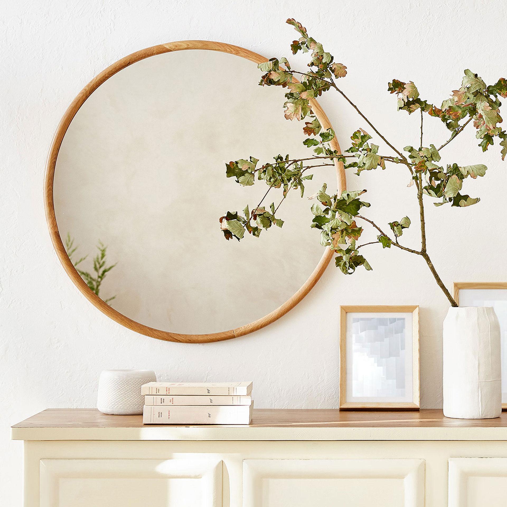Espejos de todos los estilos y tama os el mueble for Espejo kavehome
