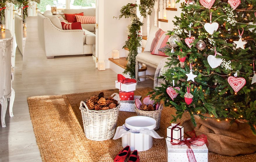 Lugares donde poner el rbol de navidad en casa - Arbol de navidad en casa ...