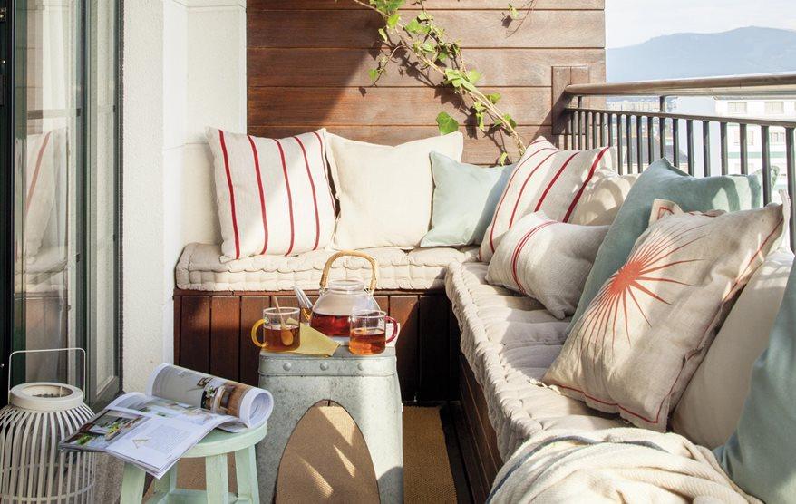 7 ideas con las que sacarle mayor partido a tu terraza peque a for Que significa terraza