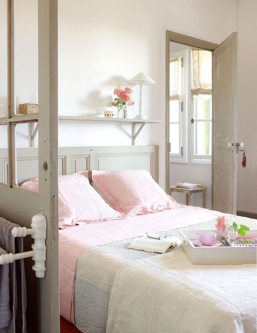 Dormitorio gris cool dormitorio en gris y naranja with for Decoracion dormitorio gris