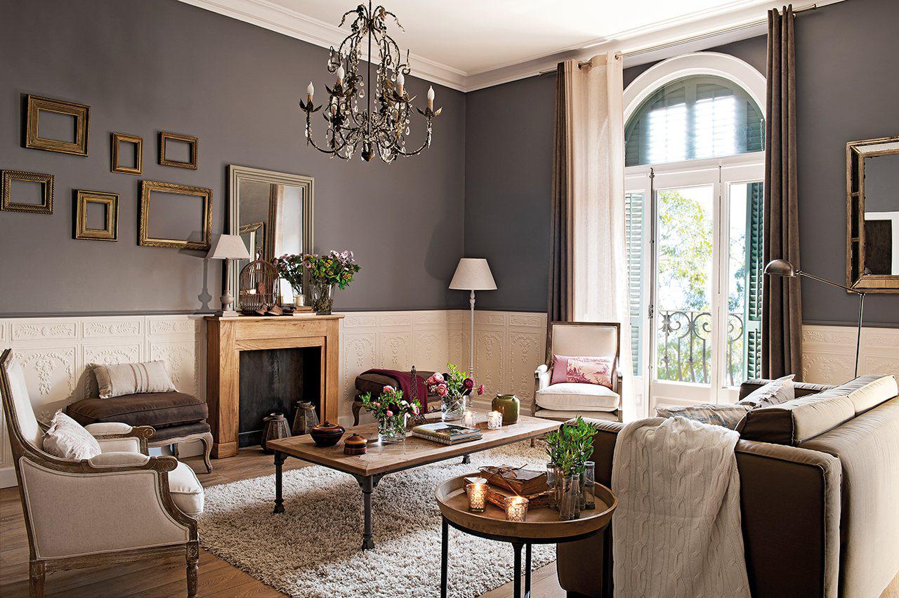 Todo sobre el gris - Muebles grises paredes color ...