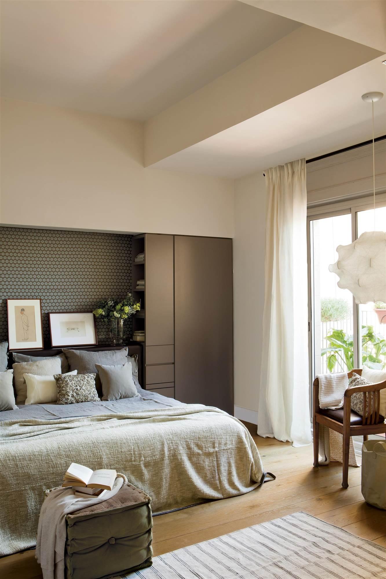 Armarios roperos armarios de cocina y armarios de ba o - Cabeceros con compartimentos ...