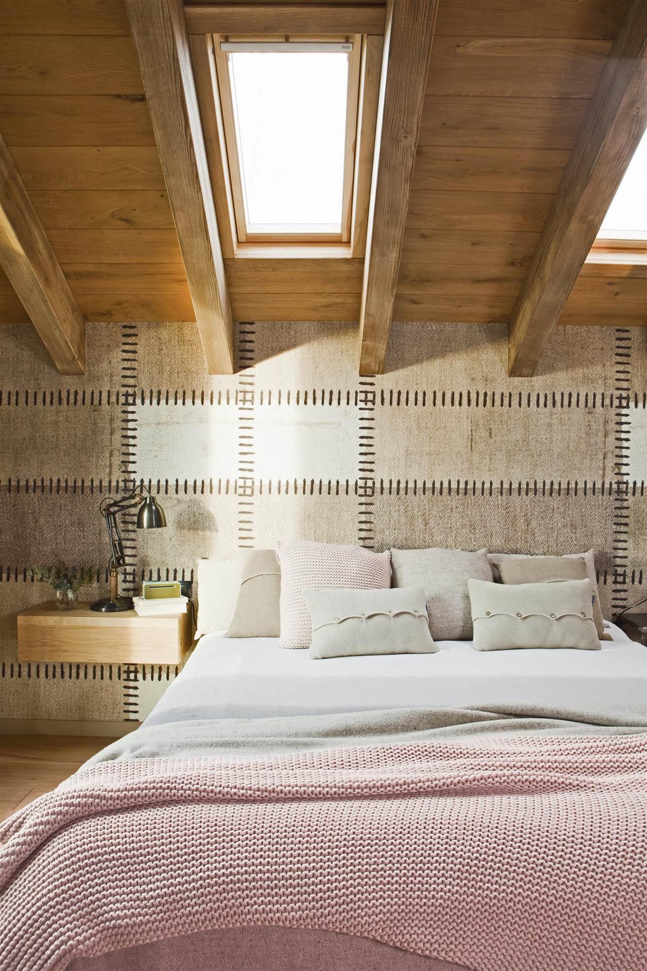Saca todo el partido a la pared de tu dormitorio - Papel pintado dormitorio principal ...